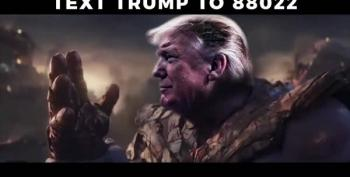 Weird Pro-Trump Video Shows Donald As...Thanos?