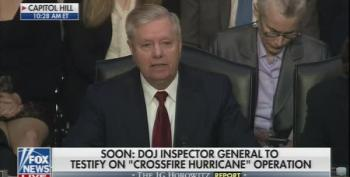 Lindsey Graham Admits Russia, Not Ukraine, Interferred In 2016
