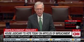 McConnell Doesn't Want Any Witnesses For Senate Trial