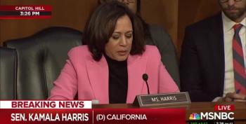 Kamala Harris Aims Her Truth-Seeking Missiles At Barr And Giuliani