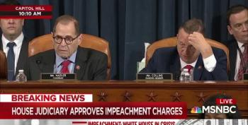 House Judiciary Committee Votes To Impeach Donald Trump