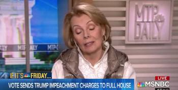 Peggy Noonan And Chuck Todd Cluck Over Trump Impeachment's 'Lack Of Mystery'