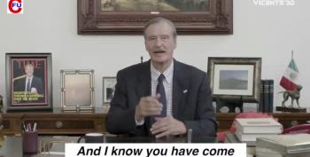 Vicente Fox Launches His 2020 Campaign With This Hat Filled Video #VicenteFox2020
