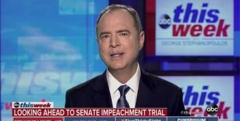 Adam Schiff On Senate Impeachment Trial: 'I Hope That The Senators Will Insist On Getting The Documents, On Hearing From The Witnesses'