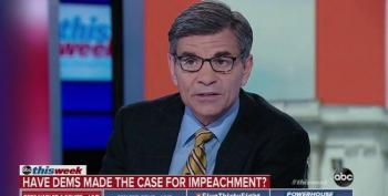 George Stephanopoulos Legitimizes GOP Obstruction