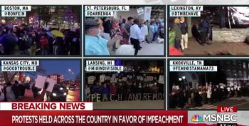 All Over America, Citizens Turned Out Last Night To Support Trump's Impeachment