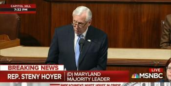 Steny Hoyer Asks Republicans Not To Allow Tyranny To 'Find Its Toehold' Ahead Of Impeachment Vote