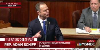 Adam Schiff Gives Emotional Closing During Impeachment Debate: 'We Used To Care About Our Democracy'