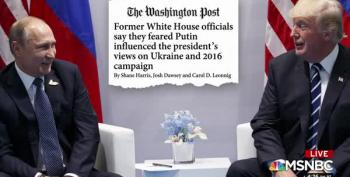 Washington Post: Trump Believes Ukraine Conspiracy Theories Because 'Putin Told Me'