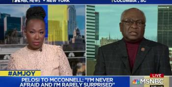 Rep. Clyburn: 'Fearless' Pelosi Fighting McConnell's Sham Impeachment Trial
