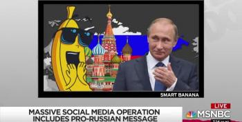 Rachel Maddow Introduces Russia's Latest Mouthpiece: Mr. Banana!