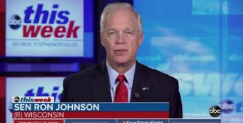 Sen. Ron Johnson Can't Let Go Of 'Russia Hoax' Delusion
