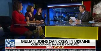 Fox's Media Buzz Normalizes Giuliani's OAN Ukraine Propaganda