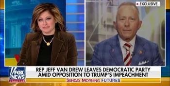 Former Democrat Jeff Van Drew Runs To Fox After Switching Parties