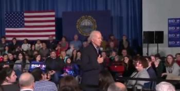 Joe Biden Puts This Heckler In His Place After Ukraine Accusation