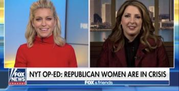 Ronna McDaniel Cites Kellyanne Conway And Ivanka Trump As GOP Success Stories For Women