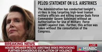 Speaker Pelosi: Congress Was Not Notified In Advance Of Soleimani Attack