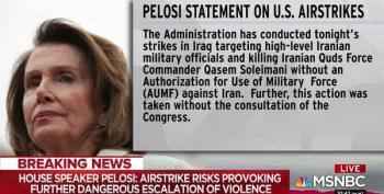 Speaker Pelosi: Congress Was Not Notified In Advance Of Soleimani Attack