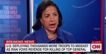 Susan Rice: Trump Brought Us Closer To War With Iran Than In 40 Years
