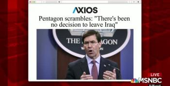 OOPS: Leaked Pentagon Letter Indicated U.S. Was Moving Troops Out Of Iraq