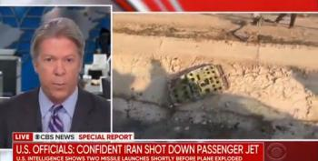 U.S. Intel Sources Conclude Passenger Plane Shot Down By Iranian Missile