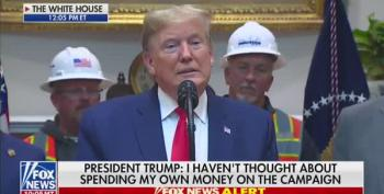Trump Brags About Giving Up His Salary