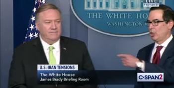 Sec. Pompeo Ducks Questions About Iranian 'Imminent Threat'