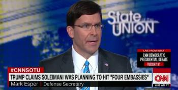 Mark Esper: Trump's 'Four Embassies' Claim Based On Belief, Not Intel