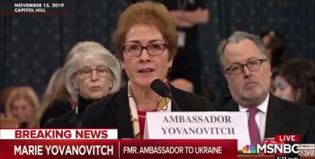 Giuliani's Goons Clearly Stalked Marie Yovanovitch In Ukraine