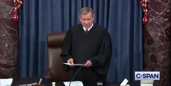Chief Justice Roberts Swears In Senators For Impeachment Trial