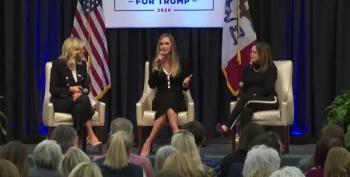 Lara Trump Laughs Over Biden's Stutter