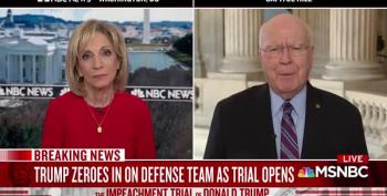Sen. Pat Leahy Calls Ken Starr A 'Weird Choice' For Trump Defense