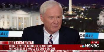 Chris Matthews: Calling Biden Would Be 'Relevant' And 'Germane' To Senate Impeachment Trial