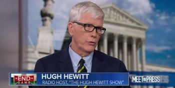 Hugh Hewitt Says He's Voting For Bernie Sanders In Virginia Democratic Primary