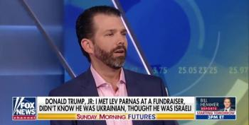 Fox Lets Don Jr. Lie Again: 'Dad' Couldn't Pick Lev Parnas From A Lineup