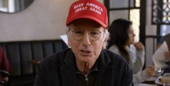 Curb Your Enthusiasm's Larry David Uses MAGA Hat As 'A Great People Repellent'