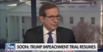 Chris Wallace: McConnell Backed Off From Original Impeachment Rules