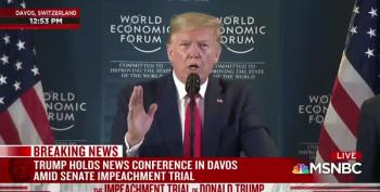 Trump Confesses To Article II Of The Articles Of Impeachment