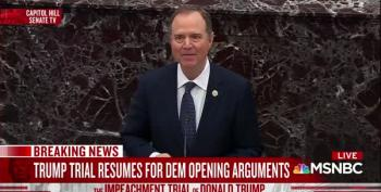 Schiff Opens Trial With Passionate Argument For Impeachment