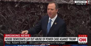 Schiff Hammers Trump For Playing Into Vladimir Putin's Hands