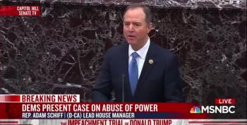 Adam Schiff Argues For Trump's Removal