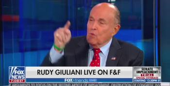 In Extended Rant, Rudy Giuliani Says 'They' Are Trying To Kill Him