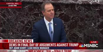 Schiff Warns That The U.S. Will Have No Allies If Trump Keeps Undercutting Them
