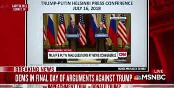 Schiff: Trump's Helsinki Treason Summit With Putin Was 'An Intelligence Coup' For Putin