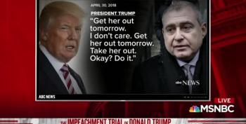 Trump Audio Released: 'Get Her Out Tomorrow. Take Her Out. Okay? Do It.'