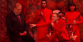 SNL Cold Open -- Alan Dershowitz Argues For Trump In Hell