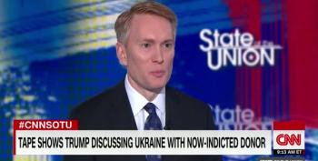 Jake Tapper Scoffs At James Lankford's Absurd Claim That Trump Doesn't Remember Lev Parnas