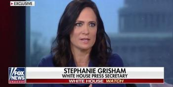 Stephanie Grisham Defends Trump's Threats Against Adam Schiff