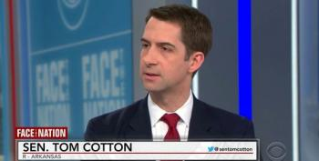 Tom Cotton Calls Criticism Of Spreading Russian Conspiracy Theories A 'Democratic Talking Point'