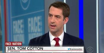 Tom Cotton Defends Trump By Downplaying Traumatic Brain Injuries Suffered By US Troops